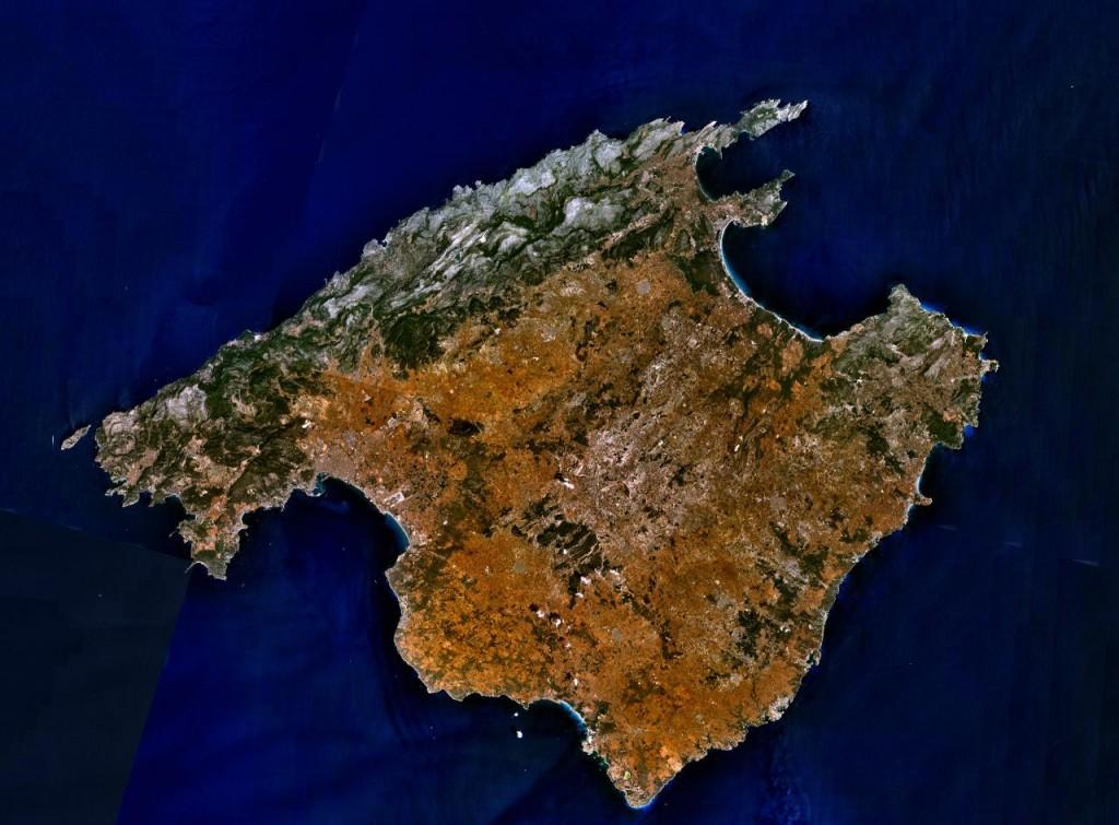 Mallorca-mapa